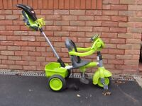 Childs bike - Little Tikes Trike 9 months to 3yrs. Detachable steering wheel with vehicle sounds .