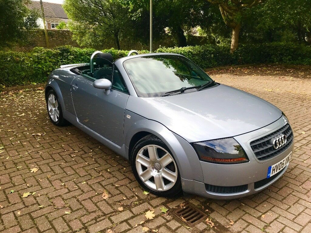 audi tt 1 8 t roadster 2dr 2005 in silver beautiful tt. Black Bedroom Furniture Sets. Home Design Ideas