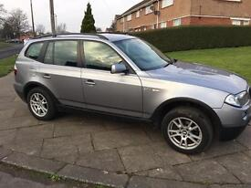BMW X3 2.0D 57 PLATE, WILL TAKE PART EX!!!
