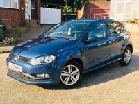 2017 VW Polo 1.2 TSI Blue Motion. Full VW Service History