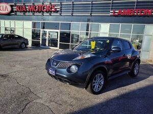 2014 Nissan Juke SV ONLY 28, 000km LOCAL TRADE