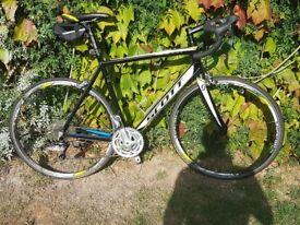 Bike, roadbike, carbon fibre forks, racing