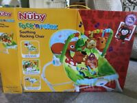 Nuby Rock n Relax Vibrating Soothing Rocking Chair (newborn to 40lb/18kg)