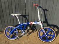 Folding bmx commuter bike - limited edition