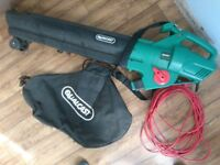 Qualcast electric 3 in 1 Garden Leaf Blower Mulcher and Vacuum £20 good condition (RRP £49)