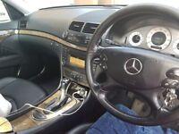 Mercedes E220 silver