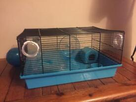 Wire hamster house