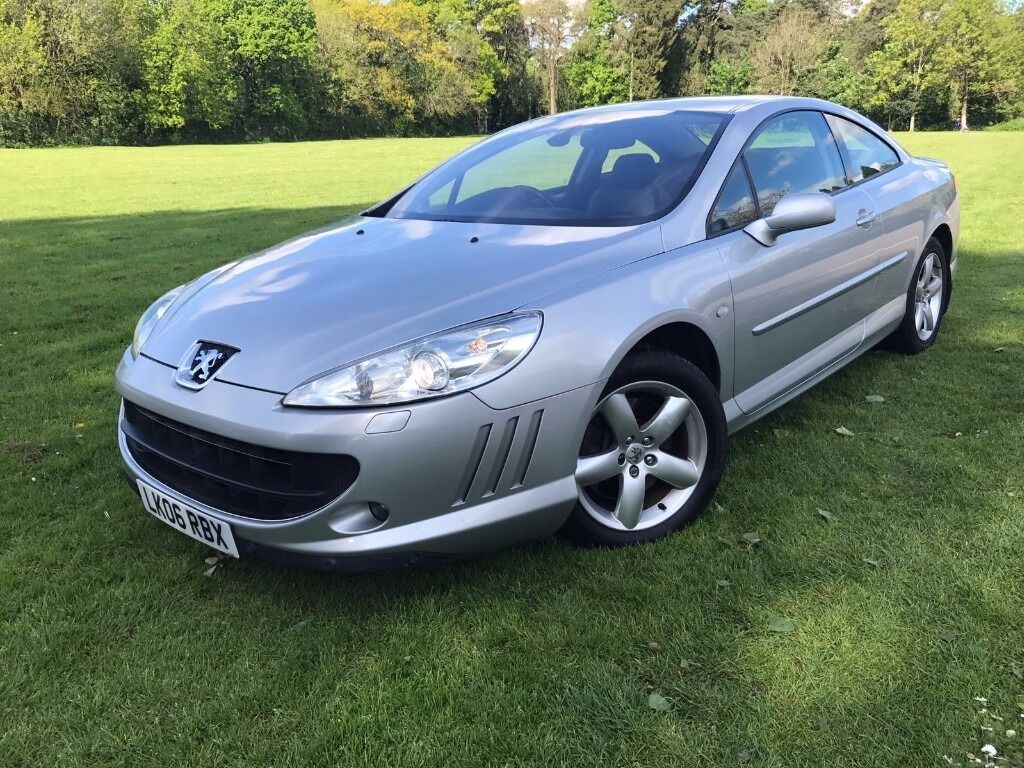2006 peugeot 407 coupe 2 2 gt spec sat nav leather heated electric seats bargain sports coupe. Black Bedroom Furniture Sets. Home Design Ideas