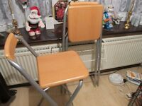 Two folding Bar stools