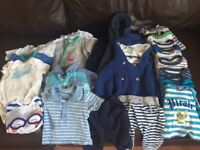 Baby boy clothes bundle mainly 0-3 months