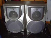 Aiwa Model No. SX-WNS777 60w 3 way speakers