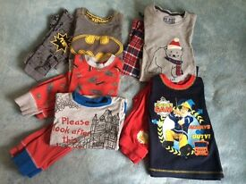 Boys age 3-4, next, m&s and fireman Sam pyjama bundle