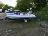 Dingy with 40hp honda