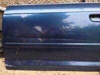 Audi a3 sportback front passenger side door skin