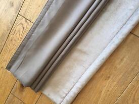 Grey (Next) Roman Blind 120x120 cms