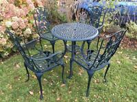 Vintage Style garden patio table & chair set with possible delivery