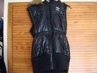 Black Adidas Bodywarmer Jacket
