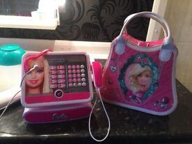 Barbie till and make up vanity box