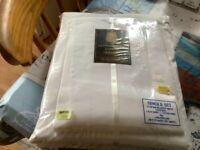 Egyptian Cotton single sheet sets