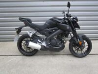 Yamaha MT125 - Learner Legal!