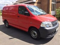 TOYOTA HIACE 2007 2.5D-4D 280 Panel Van ONLY DONE 70500 MILES FULL MOT NO VAT