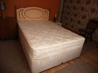 Double Divan Bed, almost new condition.