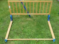 Mothercare wooden bed guard