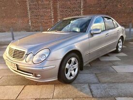 2005 MERCEDES E 280 CDI ++ FULL LEATHER ++ ALLOYS ++ CD ++ OCTOBER MOT.
