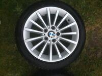 BMW 17 inch alloys