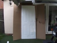 4 Panel Internal Fire Door