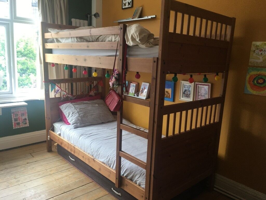 Natural Wood Bunk Bed For Sale In Holloway London Gumtree