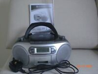 DAB / FM radio, MP3, CD and cassette player