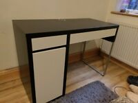 Ikea Micke Office Desk and Computer Chair