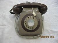 Vintage Retro Rotary Dial BT Phone 8746G