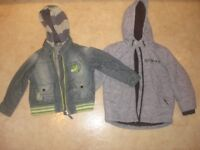 4 jackets size 4-5 and 5-6 years