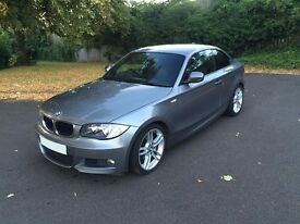 BMW 1 Series 120d M sport 2dr coupe 1 owner 2010
