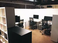 Shoreditch coworking - LIMITED spaces available NOW; + 1 NEW creative unit for 3 ppl