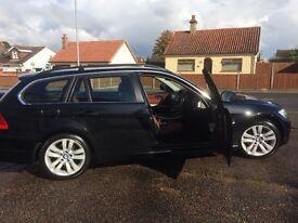 BMW 325i se touring auto estate black petrol