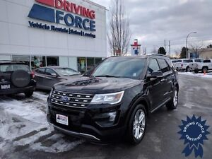 2016 Ford Explorer Limited 4x4 Six Passenger SUV - 39,805 KMs
