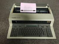 Electric Typewriter Canon AP 360