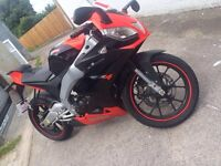Aprilia RS4 125 2013 (62), Low Miles, Immaculate Condition, London, £2350 ono