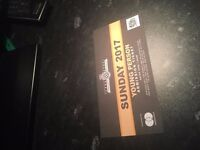 Goodwood Festival of Speed 2017 Young Persons Ticket