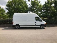 RENAULT MASTER 2.5 TD 35 L3H3 High Roof Van 4dr Diesel Manual (FWD) (120 bhp) (white) 2010