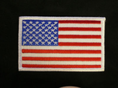 USA Flag patch uniform karate tang soo do tae kwon do