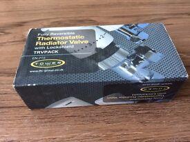 THERMOSTATIC RADIATOR VALVE – UNUSED IN BOX