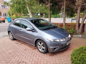 Honda Civic I-VTEC 1.8 Manual Excellent Condition **LOW MILEAGE**