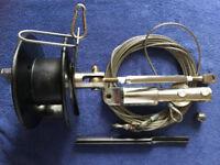SAILING YACHT JIB ROLLER FURLER - Drum; Foils; Top Swivel; Wire Halyard complete