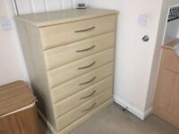 Dressing Table, Tall Boy, Bedside Draws x 2, Stool, Mirror from Rossendale Interiors