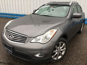 2012 Infiniti EX35 AWD *LEATHER-SUNROOF* Kitchener / Waterloo Kitchener Area image 1