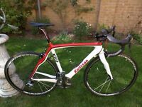 Pinarello Prince carbon bicycle custom painted (2012 model)